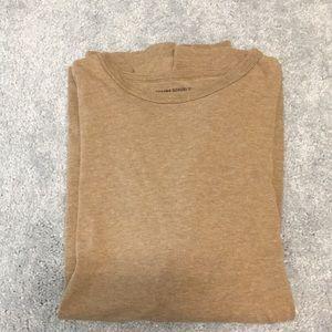Men's Beige Banana Republic Long-Sleeve T-Shirt
